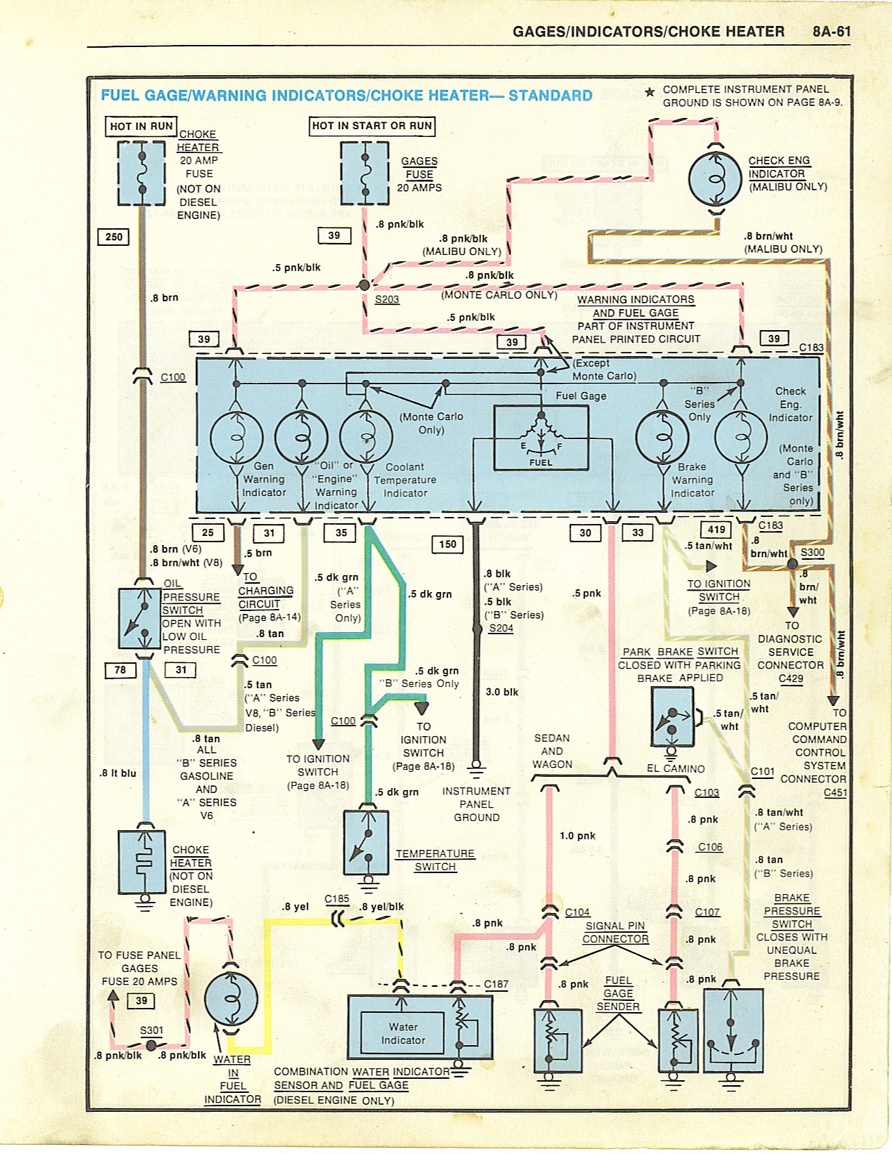 1971 Chevelle Fuse Box Diagram On 72 Chevelle Hei Distributor Wiring